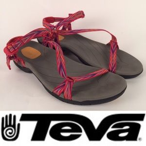 Teva Zirra Women Open-Toe Red Sport Sandal